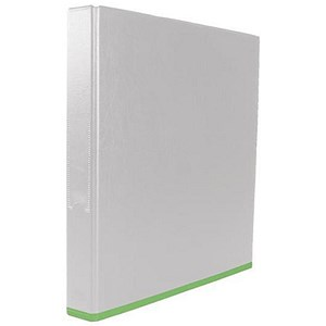 Image of Elba Mycolour Ring Binder / 2 Ring / 40mm Spine / 25mm Capacity / A4 Plus / White/Lime