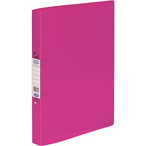 Image of Elba Snap Binder / 40mm Spine / 25mm Capacity / A4 Pink / Pack of 10