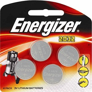 Image of Energizer CR2032 Lithium Battery - Pack of 4