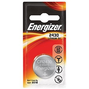 Image of Energizer CR2430 Lithium Battery - Pack of 2