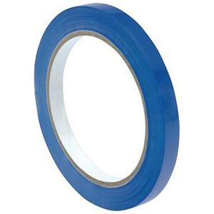 Image of Bag Sealer Tape / 9mmx66m / Vinyl / Blue / Pack of 6