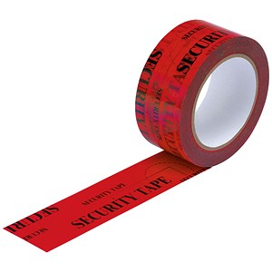 Image of Security Tape / Tamper Evident / 48mmx50m / Red