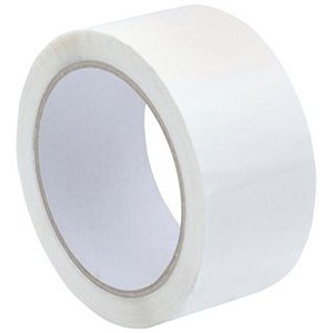 Image of Polypropylene Tape / 50mmx66m / White / Pack of 6