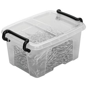 Image of Strata Smart Box / Clip-on Folding Lid / 0.4 Litre / Pack of 20