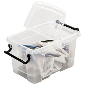Image of Smart Storemaster 1.7 Litre Capacity Boxes - Pack of 18
