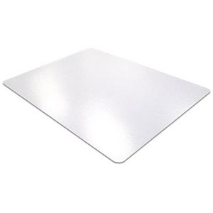 Image of Cleartex Ultimat Chair Mat For Hard Floors 1200x1340mm Clear