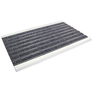 Image of Doortex Alumat Aluminium Framed Indoor Mat 390x600mm Ref FCSLT3960IND