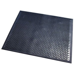 Image of Doortex Scraper Mat Nitrile Rubber 850x750mm Ref FCSC8575