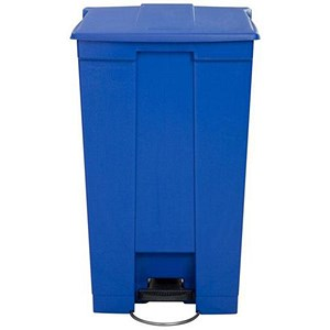 Image of Rubbermaid Step-on Bin / 87 Litre / Blue