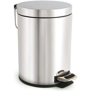 Image of Pedal Bin / 5 Litre / Stainless Steel