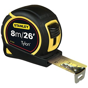 Image of Stanley Tape Measure - 8m