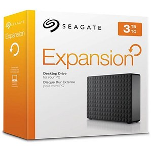 Image of Seagate Expansion Desktop USB 3.0 Drive - 3TB