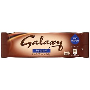Image of Galaxy Hot Chocolate Powder Sachets - Pack of 50