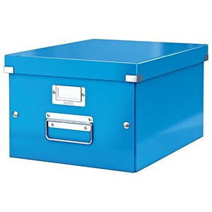 Image of Leitz WOW Click & Store Medium Storage Box / A4 / Blue