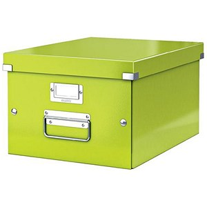 Image of Leitz WOW Click & Store Medium Storage Box / A4 / Green