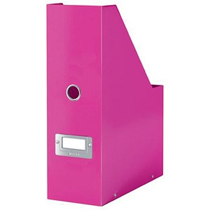 Image of Leitz WOW Click & Store Magazine File - Pink