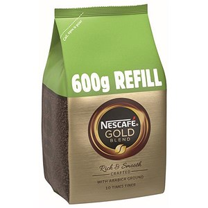 Image of Nescafe Gold Blend Refill Pack - 600g