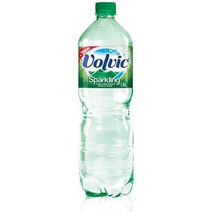 Image of Volvic Sparkling Water - 6 x 1.5 Litre Plastic Bottles