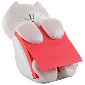 Cat Post-It Note Dispenser