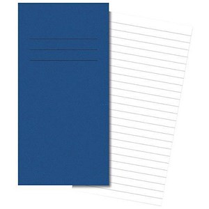 Image of Cambridge Ruled Exercise Book / 205x115mm / 8mm Ruled / 80 Pages / Pack of 100