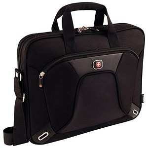 Image of Wenger Administrator Laptop Case / Fits Up To 15 inch MacBook Pro / Slimcase with iPad Pocket