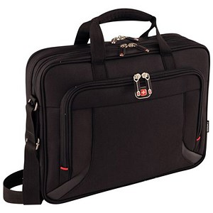 Image of Wenger Prospectus Laptop Briefcase with Tablet Pocket - Fits Up To 16 inch Laptop