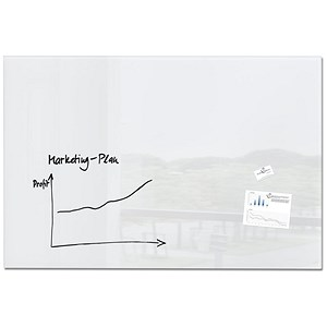 Image of Sigel Artverum High Quality Tempered Glass Magnetic Board / 1500x1000mm / White