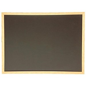Image of 5 Star Chalkboard Wooden Frame - 600x900mm