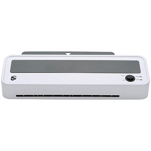 Image of 5 Star Hot & Cold Laminator / Up to 2x125 Micron Pouches / A4