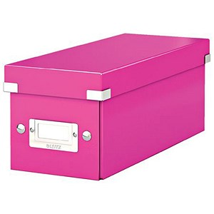 Image of Leitz WOW Click & Store CD Box - Pink