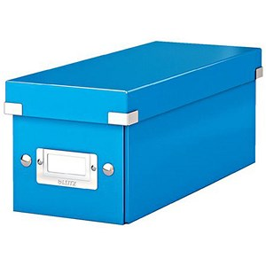 Image of Leitz WOW Click & Store CD Box - Blue