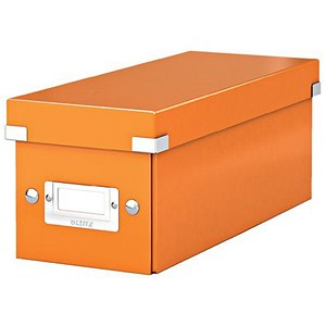 Image of Leitz WOW Click & Store CD Box - Orange