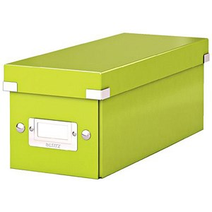 Image of Leitz WOW Click & Store CD Box - Green