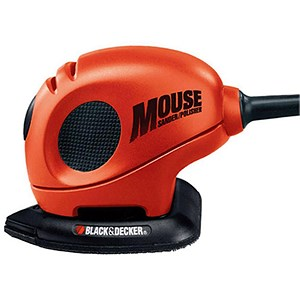 Image of Black & Decker 4 in 1 Mouse Sander / 15 Accessories / Kitbag / 230V