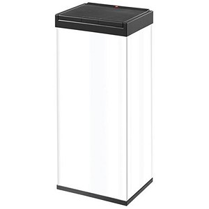 Image of Big Bin Touch - High Strength, Impact Resistant Plastic - Flat Packed - 60 Litre Capacity - White