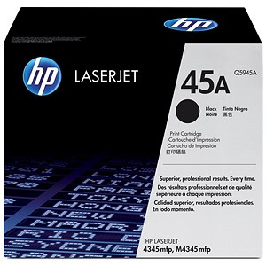 Image of HP 45A Black Laser Toner Cartridge