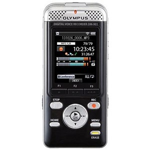 Image of Olympus DM-901 Voice Recorder Stereo Wi-Fi MP3 WMA 4GB Ref V407141BE000