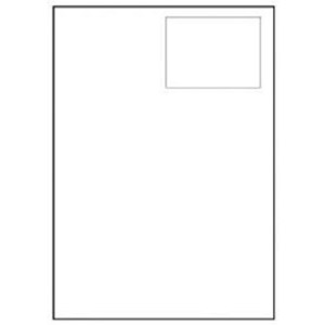 Image of Avery Integrated Single Label Sheet / 110x76mm / White / L4831 / 1000 Sheets