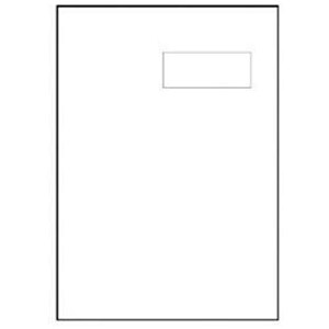 Image of Avery Integrated Single Label Sheet / 100x45mm / White / L4833 / 1000 Sheets