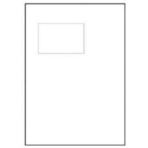 Image of Avery Integrated Single Label Sheet / 110x80mm / White / L4837/ 1000 Sheets