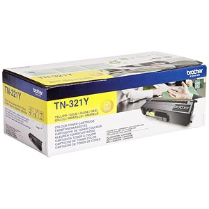 Image of Brother TN321Y Yellow Laser Toner Cartridge