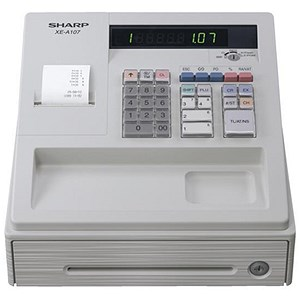 Image of Sharp Cash Register 80PLUs White Ref XEA107WH