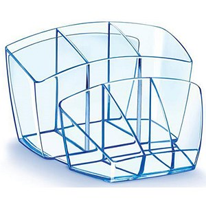 Image of CEP Desktop Organiser with Multiple Compartments - Ice Blue
