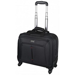 Image of Lightpak Star Business Trolley With 15 inch Laptop Case / Nylon / Black