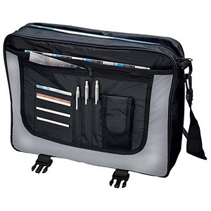 Image of LightPak Wave Messenger Bag Black/Grey