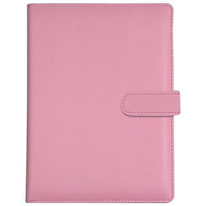Image of Collins Paris Pocket Organiser / Padded Leather / 2017 Diary Insert For Refills / 120x81mm / Pink