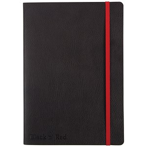 Image of Black n' Red Soft Cover Business Journal / A5 / Numbered Pages / 144 Pages