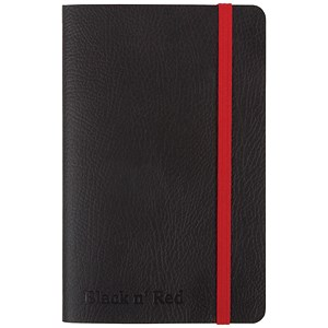 Image of Black By Black n' Red Soft Cover Business Journal / A6 / Numbered Pages / 144 Pages