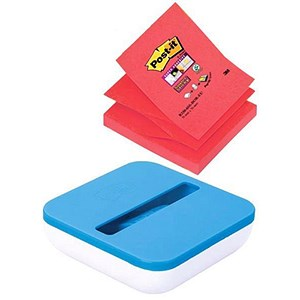 Image of Post-it Value Z-Note Dispenser + 8 Pads - 76x76mm