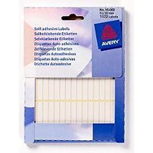 Image of Avery Label Wallet / 6x50mm / White / 16-009 / 1623 Labels
